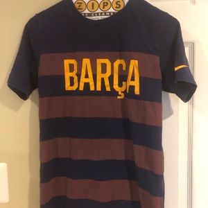 Barca NIKE Men's small T-shirt excellent condition
